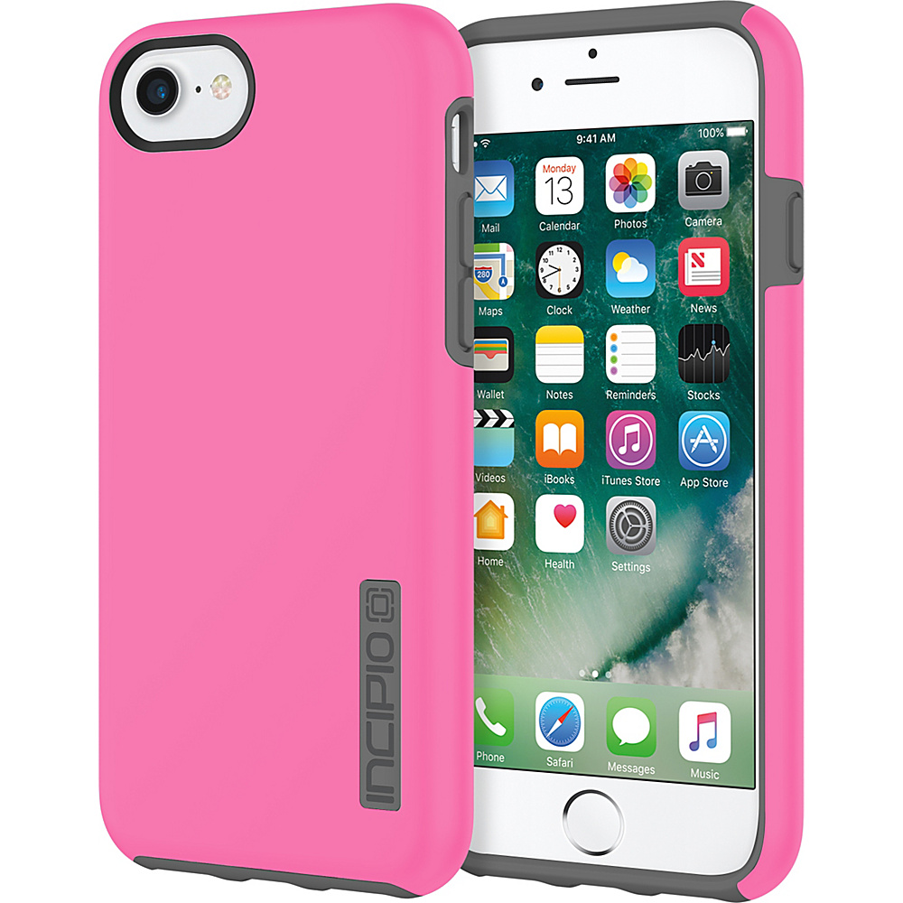 Incipio DualPro for iPhone 7 Pink/Charcoal(PKC) - Incipio Electronic Cases - Technology, Electronic Cases