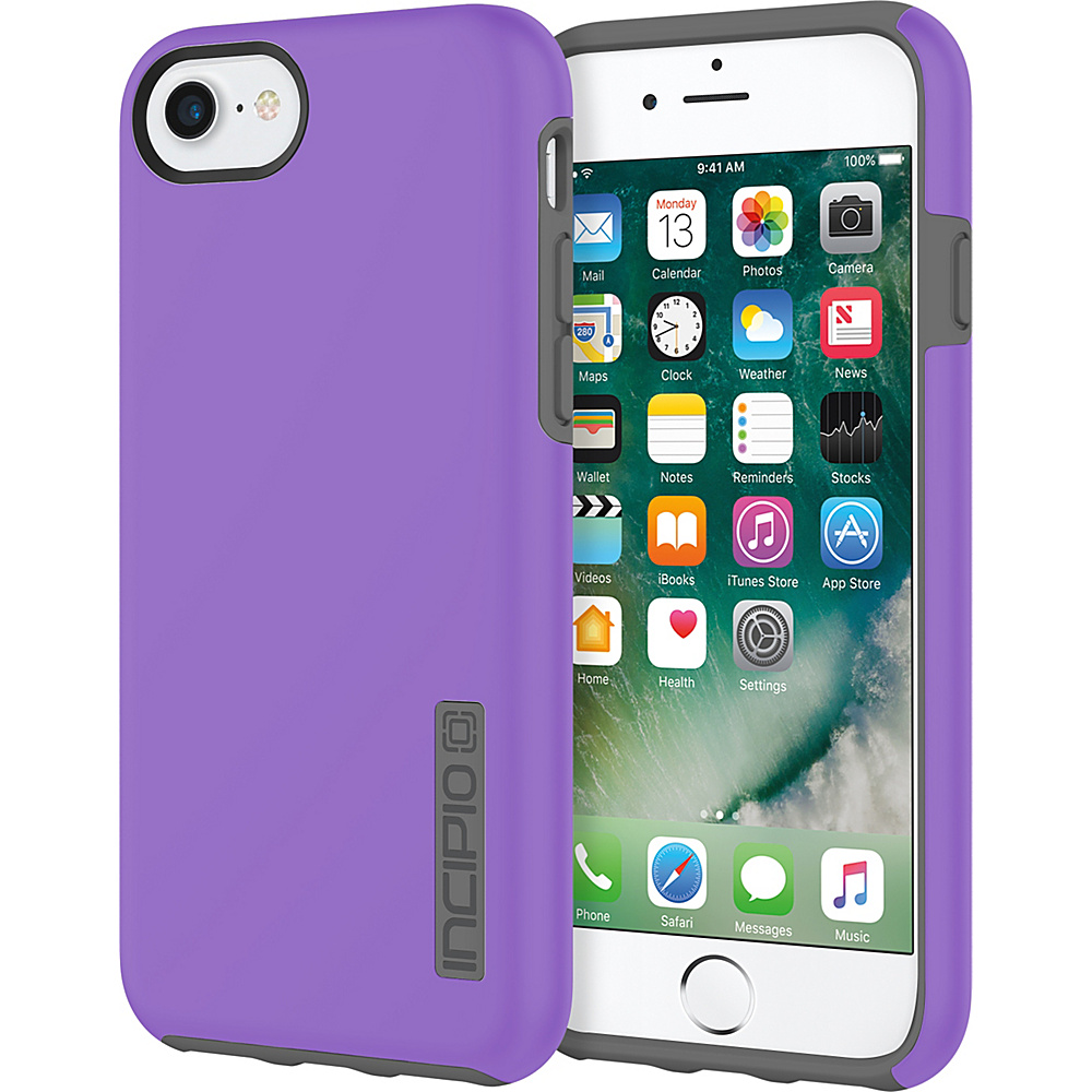 Incipio DualPro for iPhone 7 Purple/Charcoal(PRC) - Incipio Electronic Cases - Technology, Electronic Cases