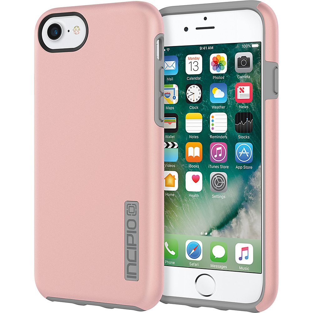 Incipio DualPro for iPhone 7 Iridescent Rose Gold/Gray(RGY) - Incipio Electronic Cases - Technology, Electronic Cases