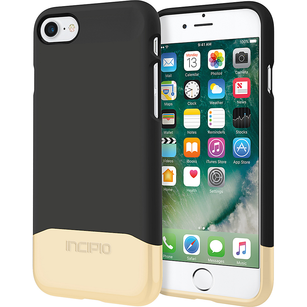 Incipio Edge Chrome for iPhone 7 Black/Gold(BGD) - Incipio Electronic Cases - Technology, Electronic Cases