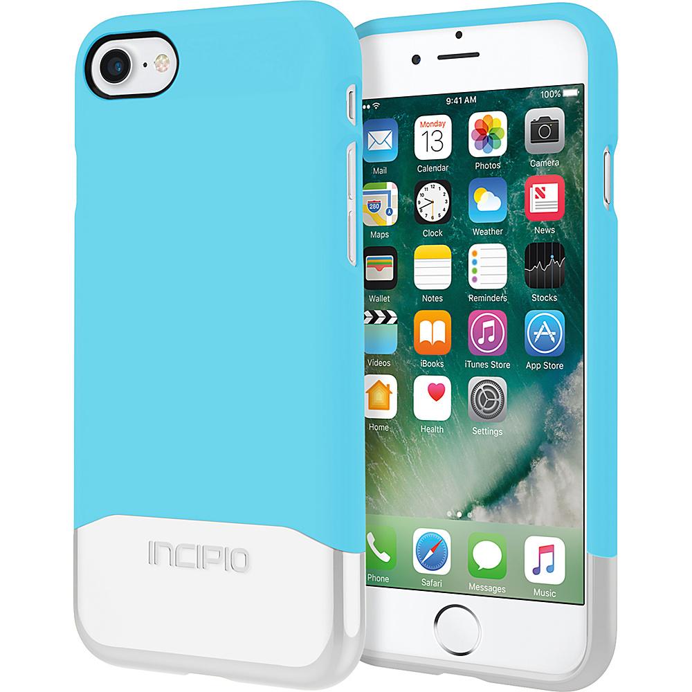 Incipio Edge Chrome for iPhone 7 Sky Blue/Silver(SBS) - Incipio Electronic Cases - Technology, Electronic Cases
