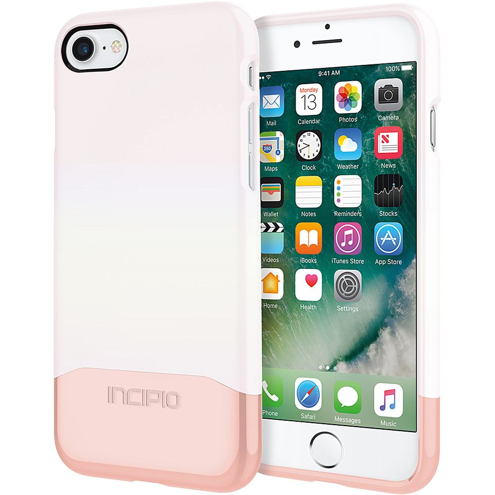 Incipio Edge Chrome for iPhone 7 Iridescent White Opal/Chrome Rose Gold(WRG) - Incipio Electronic Cases - Technology, Electronic Cases