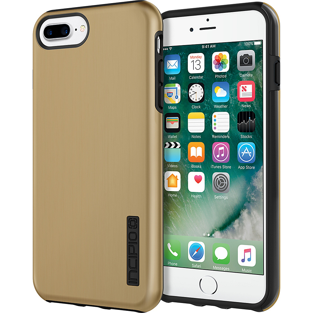 Incipio DualPro SHINE for iPhone 7 Plus Gold/Black(GDB) - Incipio Electronic Cases - Technology, Electronic Cases