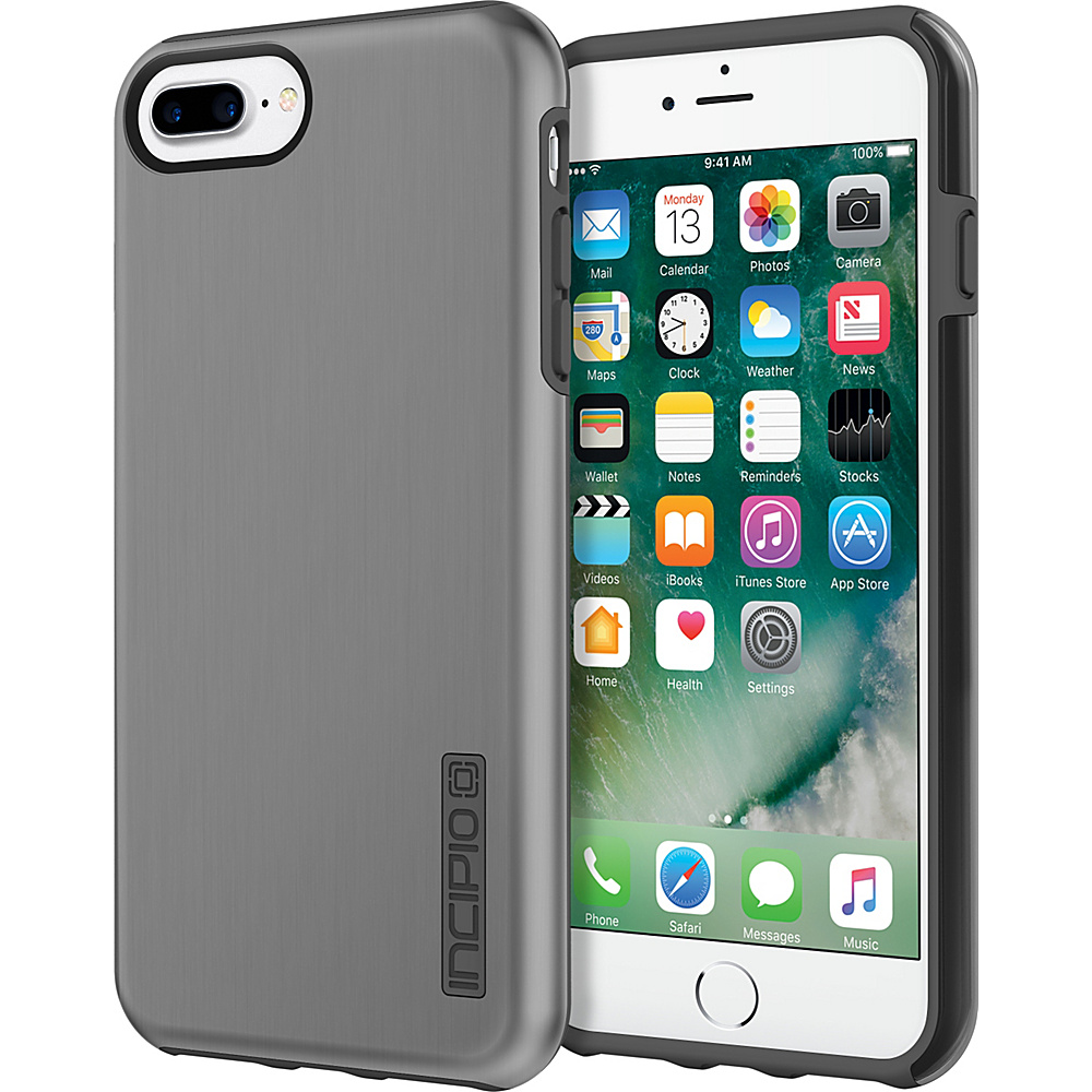 Incipio DualPro SHINE for iPhone 7 Plus Space Gray/Charcoal(SGC) - Incipio Electronic Cases - Technology, Electronic Cases