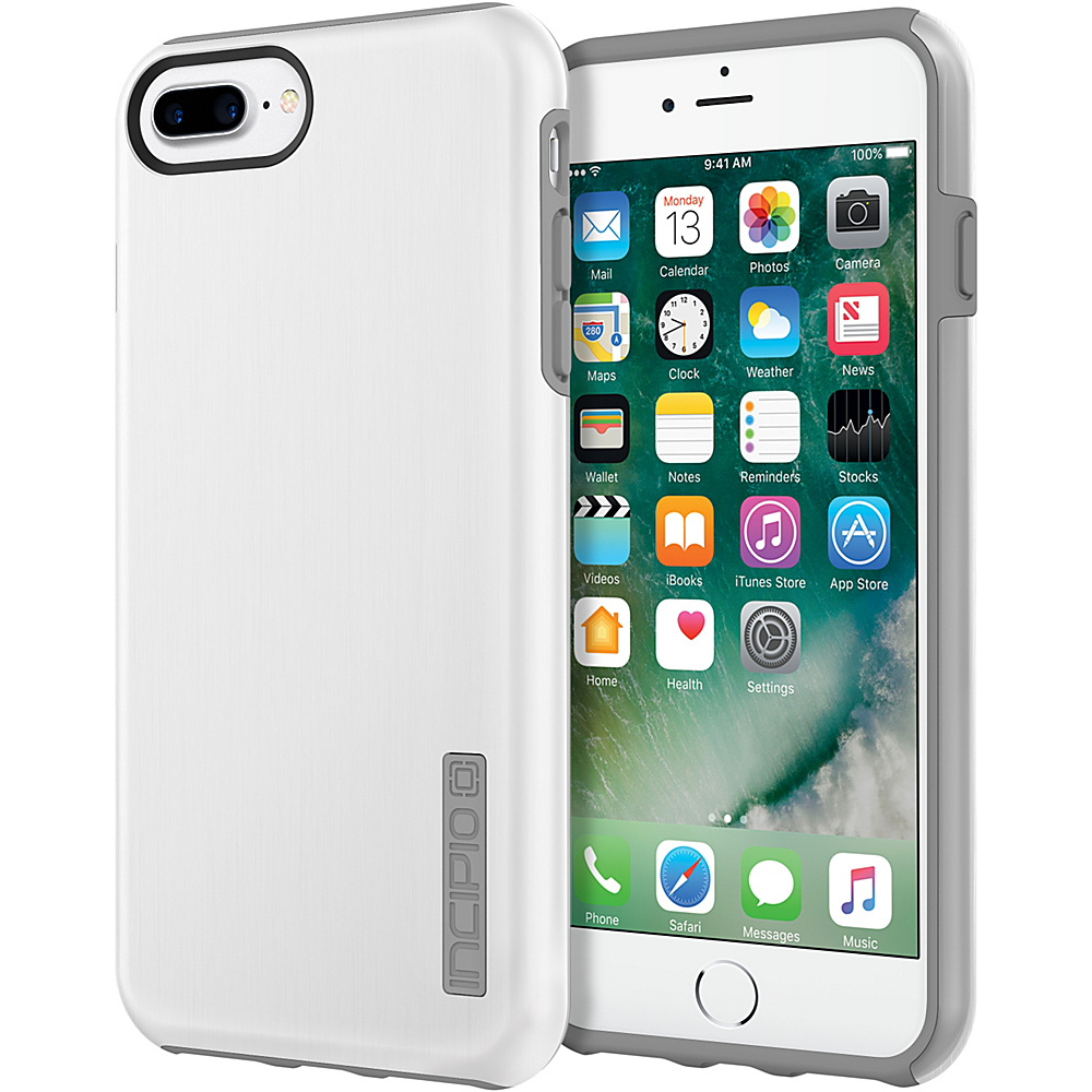 Incipio DualPro SHINE for iPhone 7 Plus White/Gray(WGY) - Incipio Electronic Cases - Technology, Electronic Cases