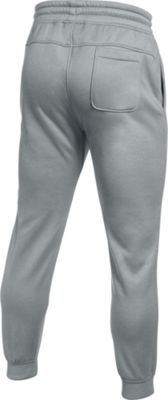 Under Armour Storm Armour Fleece Icon Jogger S - True Gray Heather/Black - Under Armour Men's Apparel