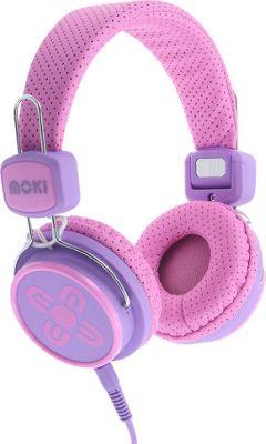 Moki Kids Safe Headphones Pink/Purple - Moki Headphones & Speakers