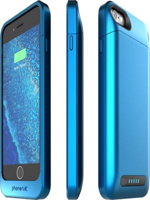 PhoneSuit Elite 6 Pro Battery Case for iPhone 6 Metallic Blue - PhoneSuit Electronic Cases