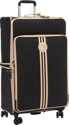 GUESS Travel Nona 28 inch 8-Wheel Spinner Black - GUESS Travel Softside Checked