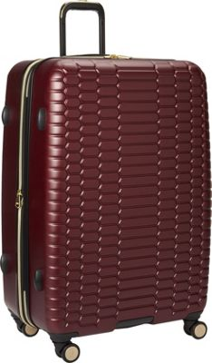 Aimee Kestenberg Boa Collection 28 inch Hardside 8-Wheel Luggage Raspberry - Aimee Kestenberg Large Rolling Luggage