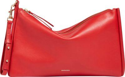 Skagen Anesa Clutch Red - Skagen Leather Handbags