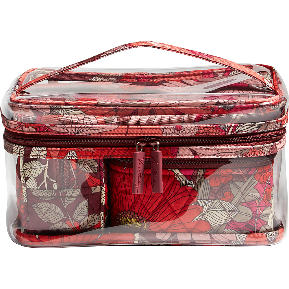 Vera Bradley Travel Cosmetic Set Bohemian Blooms - Vera Bradley Womens SLG Other - Women's SLG, Women's SLG Other