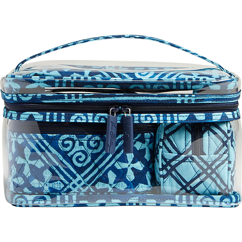 Vera Bradley Travel Cosmetic Set Cuban Tiles - Vera Bradley Womens SLG Other - Women's SLG, Women's SLG Other
