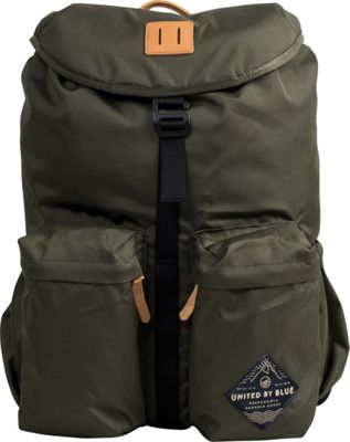 United by Blue 30L Base Backpack Olive - United by Blue Business & Laptop Backpacks