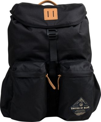 United by Blue 30L Base Backpack Black - United by Blue Business & Laptop Backpacks