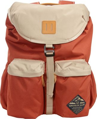 United by Blue 30L Base Backpack Rust/Tan - United by Blue Business & Laptop Backpacks