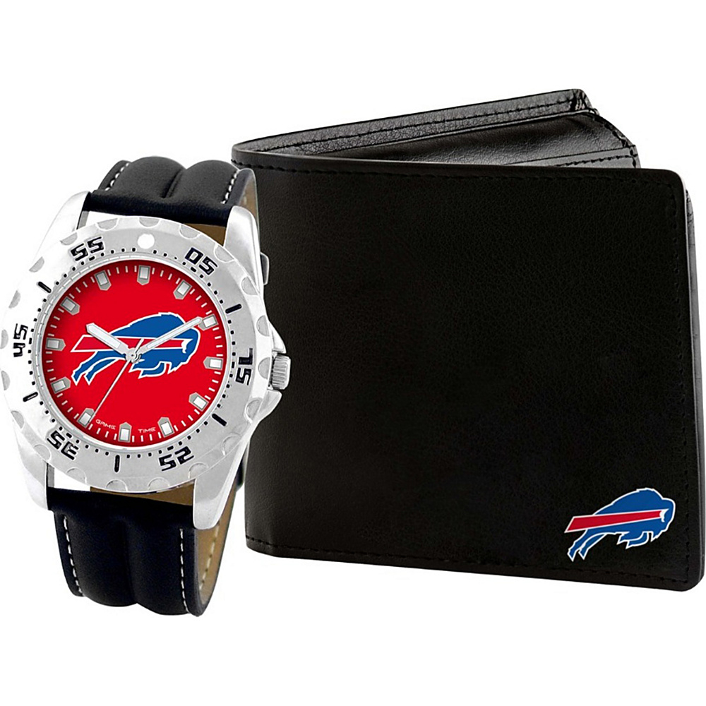 Game Time Watch and Wallet Gift Set - NFL Buffalo Bills - Game Time Watches - Fashion Accessories, Watches