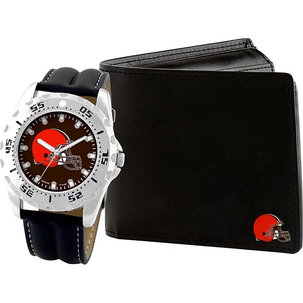 Game Time Watch and Wallet Gift Set - NFL Cleveland Browns - Game Time Watches - Fashion Accessories, Watches