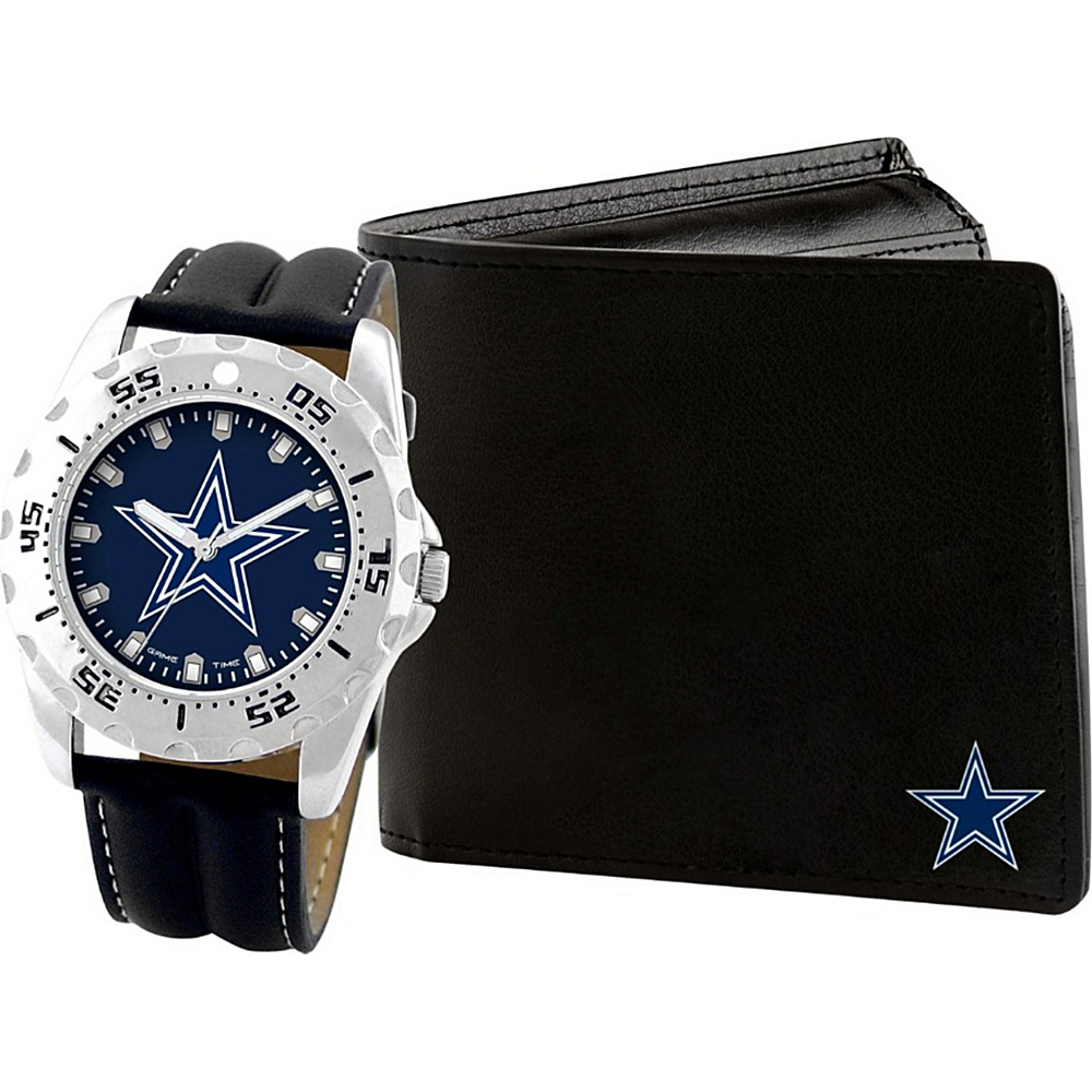 Game Time Watch and Wallet Gift Set - NFL Dallas Cowboys - Game Time Watches - Fashion Accessories, Watches