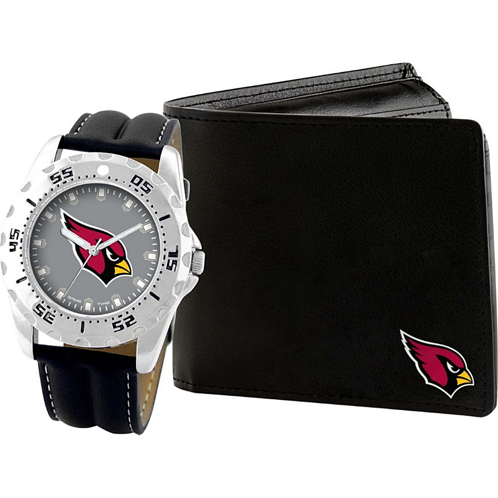 Game Time Watch and Wallet Gift Set - NFL Arizona Cardinals - Game Time Watches - Fashion Accessories, Watches
