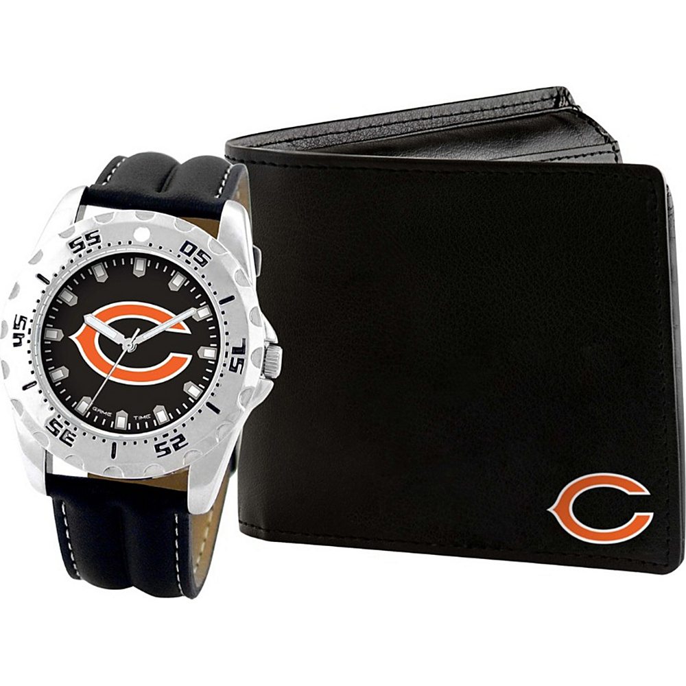 Game Time Watch and Wallet Gift Set - NFL Chicago Bears - Game Time Watches - Fashion Accessories, Watches