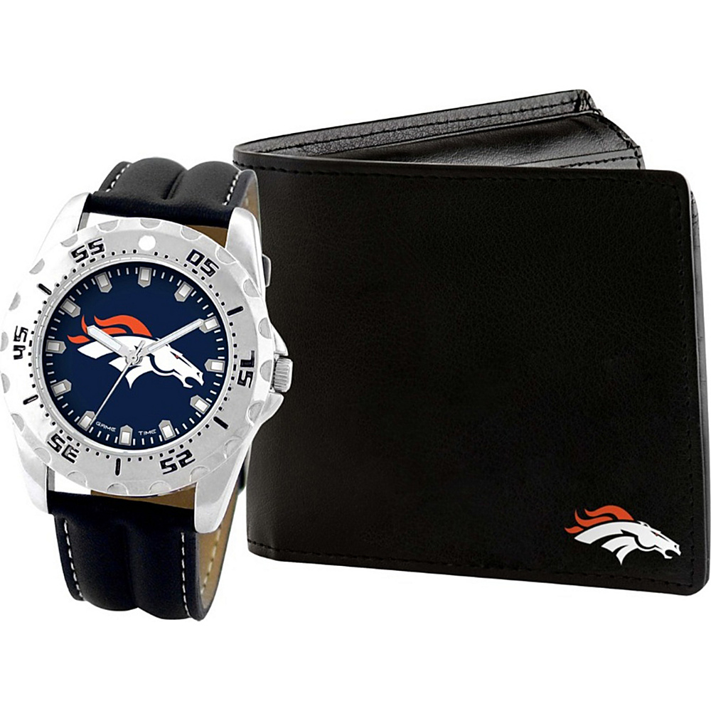 Game Time Watch and Wallet Gift Set - NFL Denver Broncos - Game Time Watches - Fashion Accessories, Watches