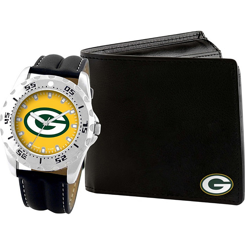 Game Time Watch and Wallet Gift Set - NFL Green Bay Packers - Game Time Watches - Fashion Accessories, Watches