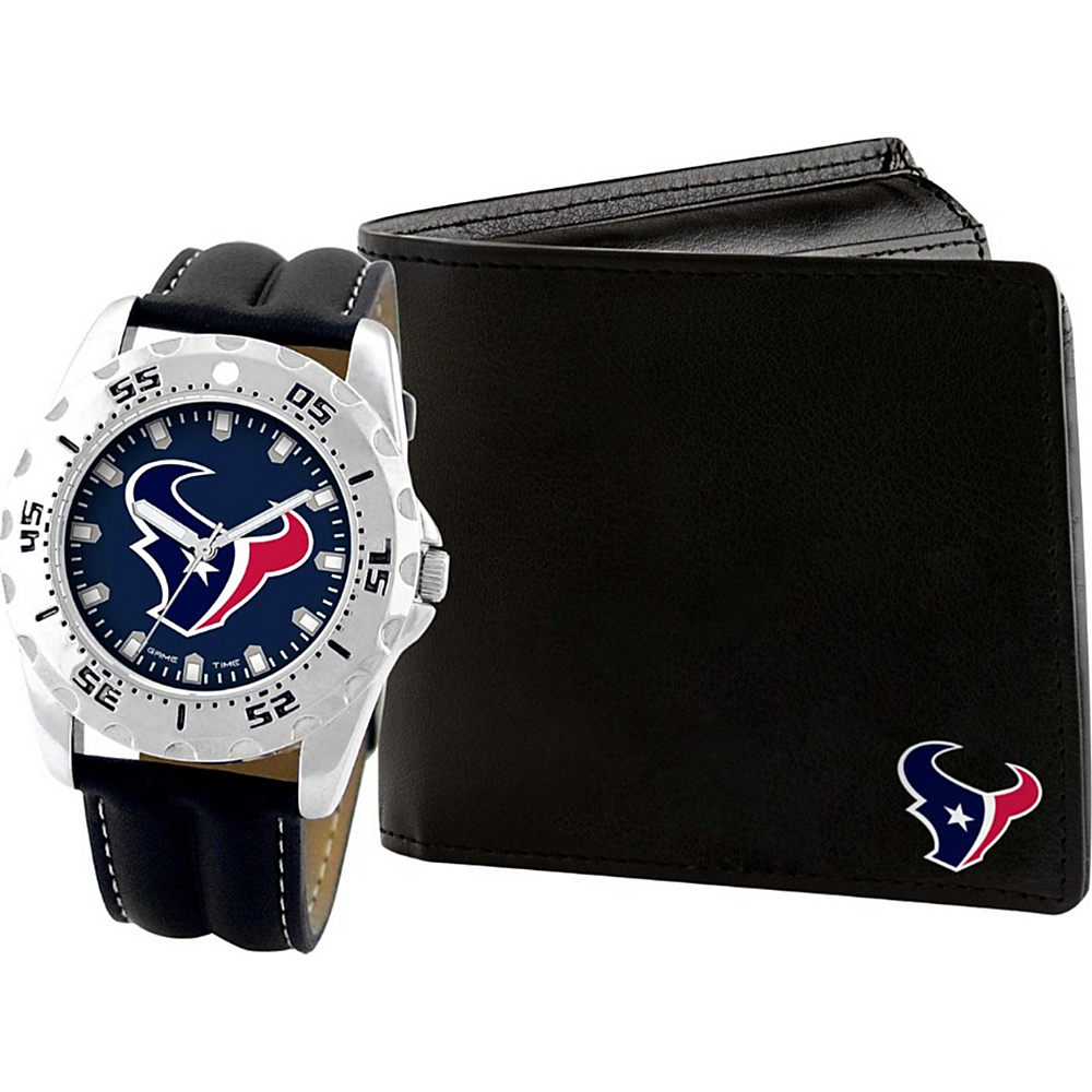 Game Time Watch and Wallet Gift Set - NFL Houston Texans - Game Time Watches - Fashion Accessories, Watches