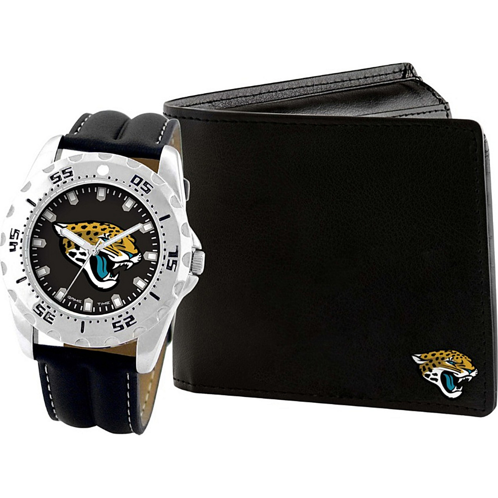 Game Time Watch and Wallet Gift Set - NFL Jacksonville Jaguars - Game Time Watches - Fashion Accessories, Watches