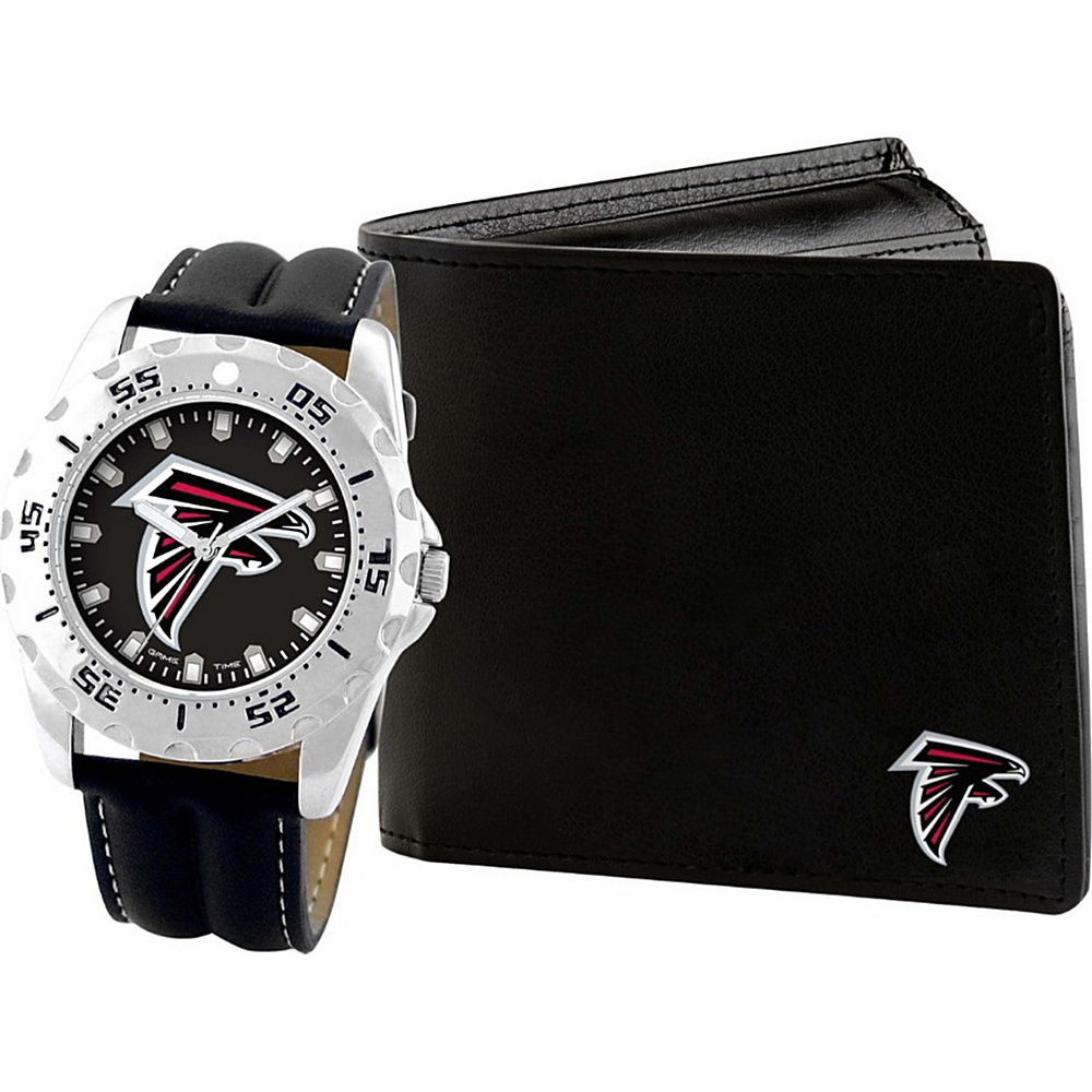 Game Time Watch and Wallet Gift Set - NFL Atlanta Falcons - Game Time Watches - Fashion Accessories, Watches