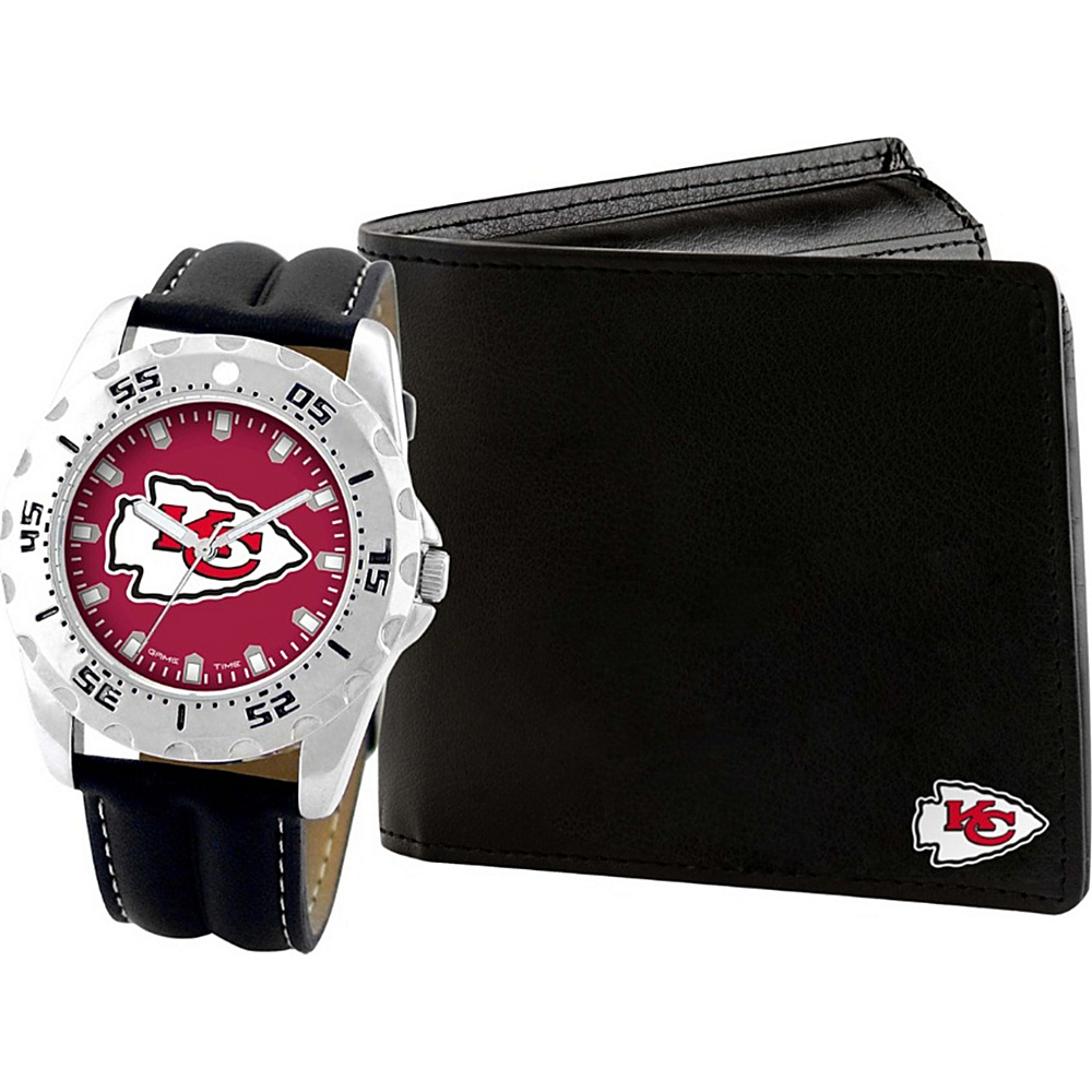 Game Time Watch and Wallet Gift Set - NFL Kansas City Chiefs - Game Time Watches - Fashion Accessories, Watches