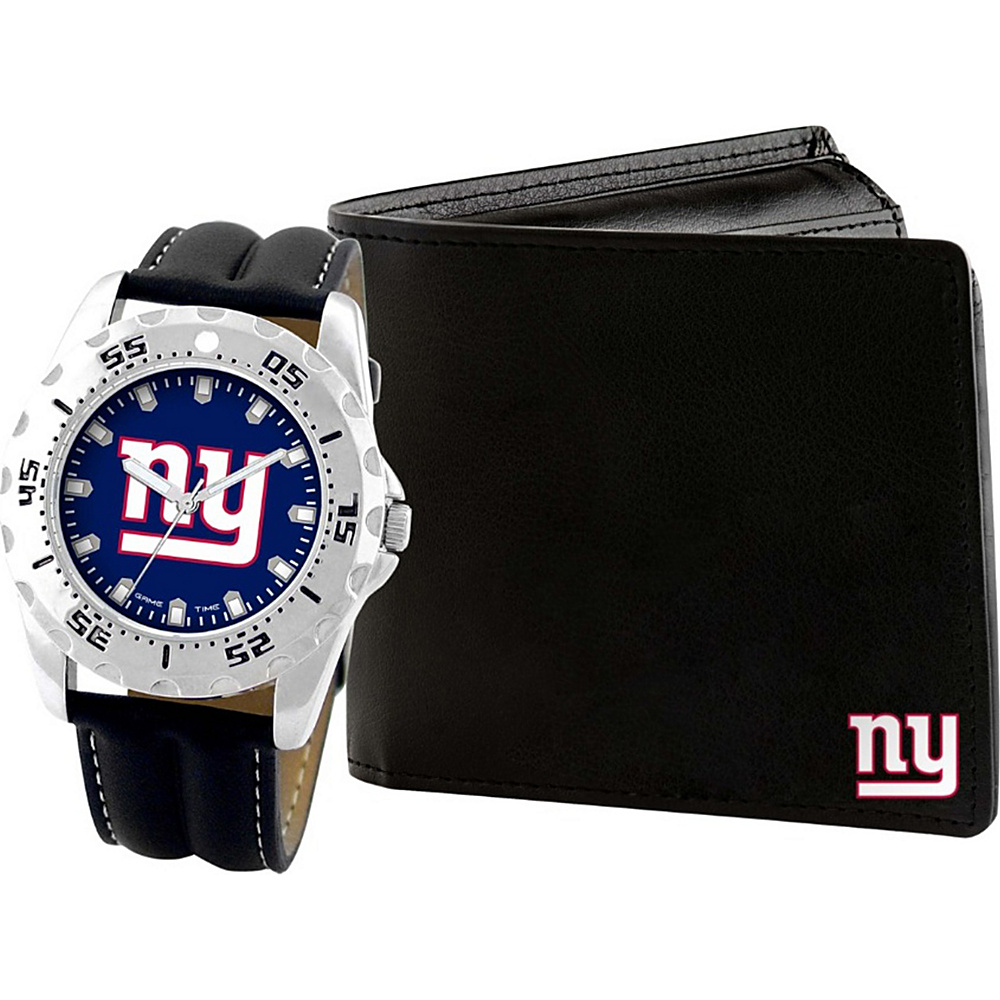 Game Time Watch and Wallet Gift Set - NFL New York Giants - Game Time Watches - Fashion Accessories, Watches