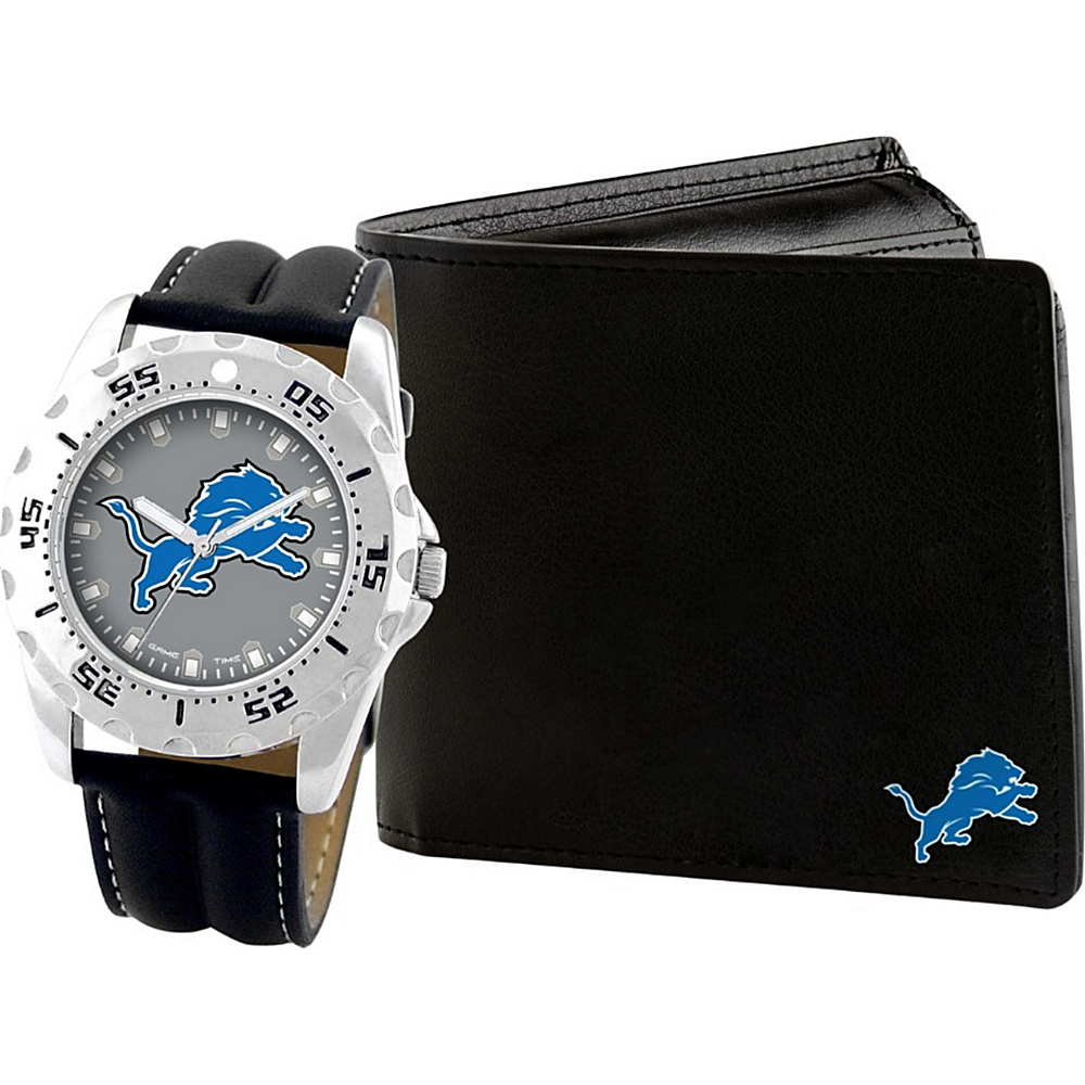 Game Time Watch and Wallet Gift Set - NFL Detroit Lions - Game Time Watches - Fashion Accessories, Watches