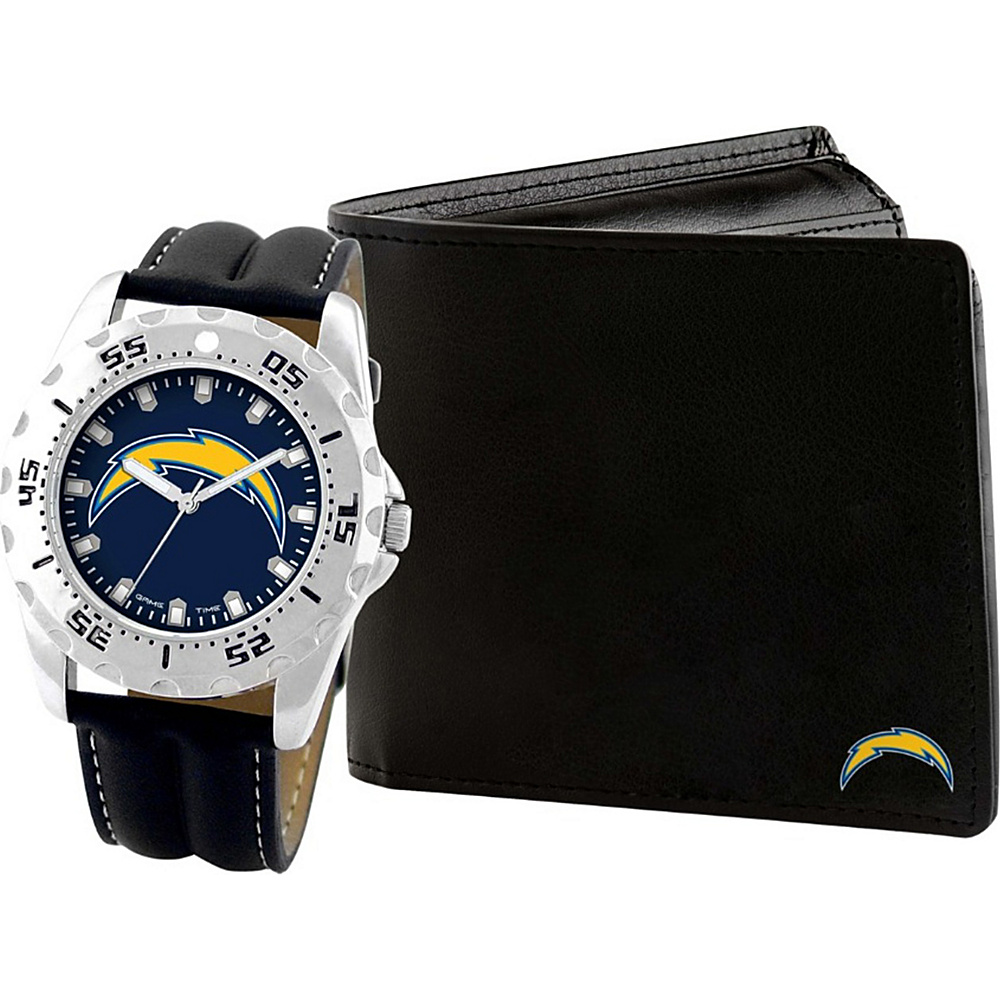 Game Time Watch and Wallet Gift Set - NFL San Diego Chargers - Game Time Watches - Fashion Accessories, Watches