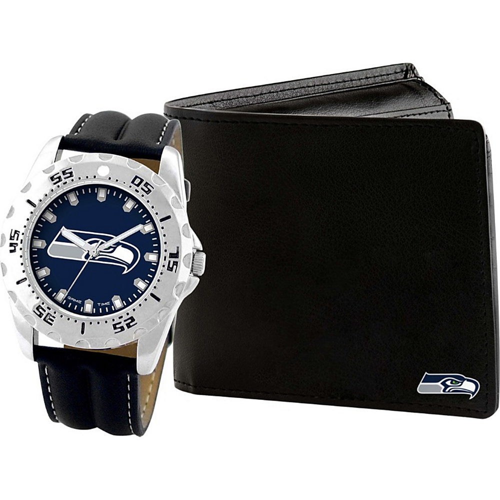 Game Time Watch and Wallet Gift Set - NFL Seattle Seahawks - Game Time Watches - Fashion Accessories, Watches