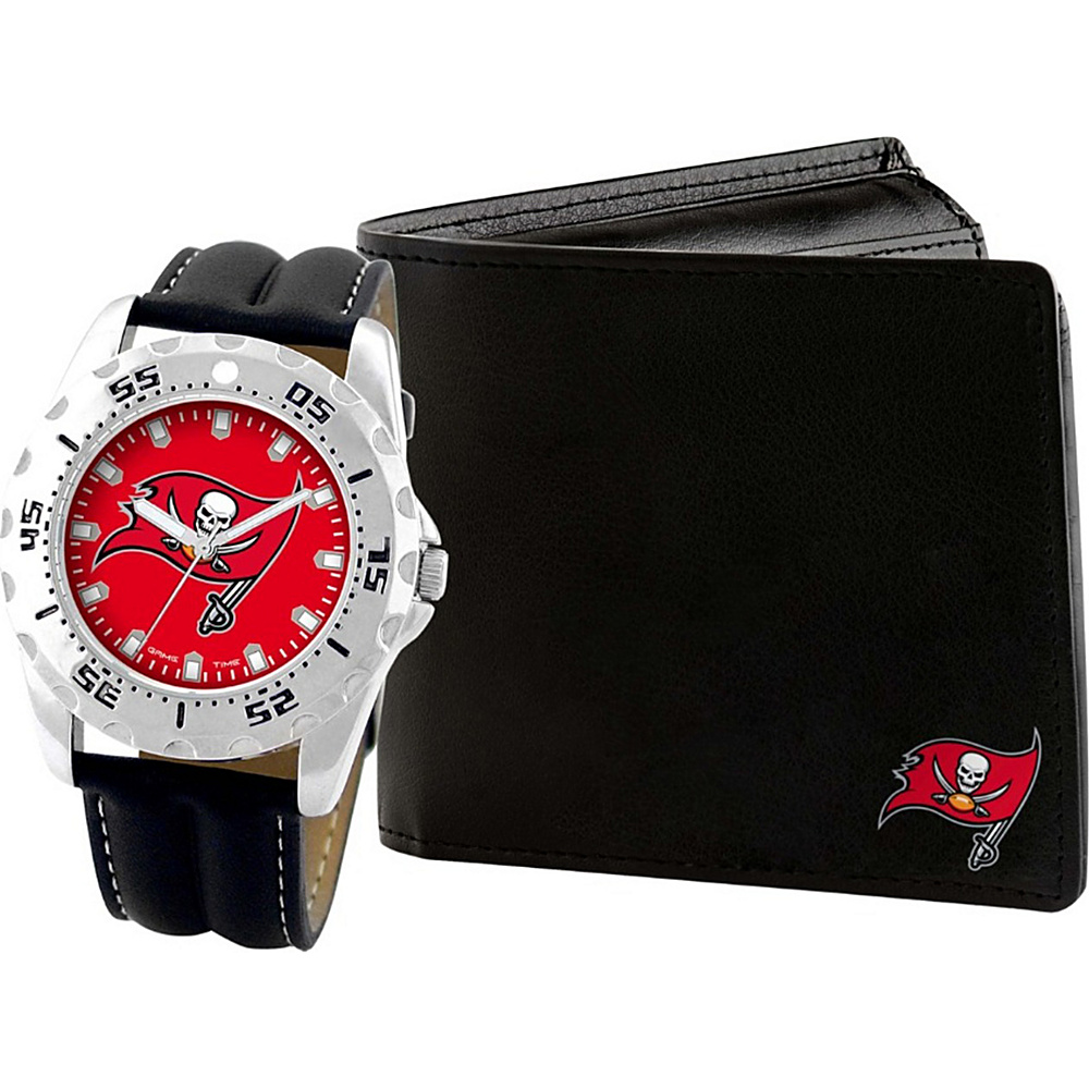Game Time Watch and Wallet Gift Set - NFL Tampa Bay Buccaneers - Game Time Watches - Fashion Accessories, Watches