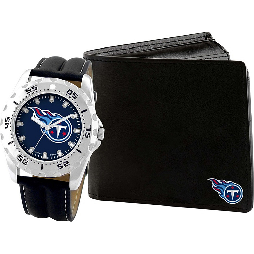 Game Time Watch and Wallet Gift Set - NFL Tennessee Titans - Game Time Watches - Fashion Accessories, Watches