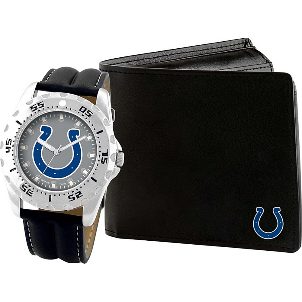 Game Time Watch and Wallet Gift Set - NFL Indianapolis Colts - Game Time Watches - Fashion Accessories, Watches