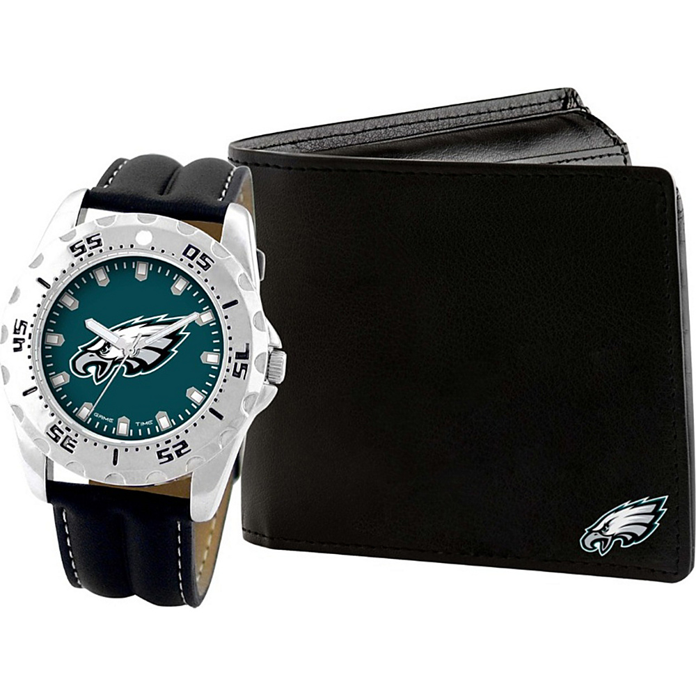 Game Time Watch and Wallet Gift Set - NFL Philadelphia Eagles - Game Time Watches - Fashion Accessories, Watches