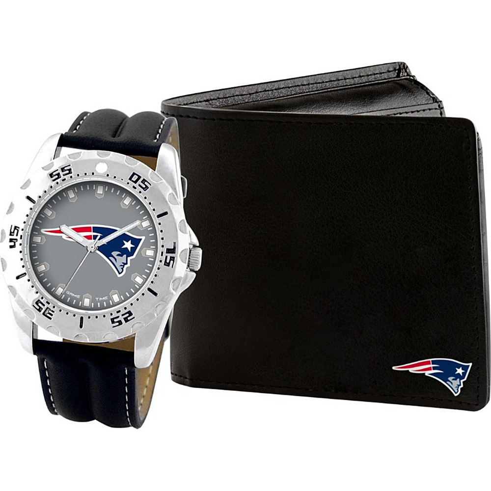 Game Time Watch and Wallet Gift Set - NFL New England Patriots - Game Time Watches - Fashion Accessories, Watches