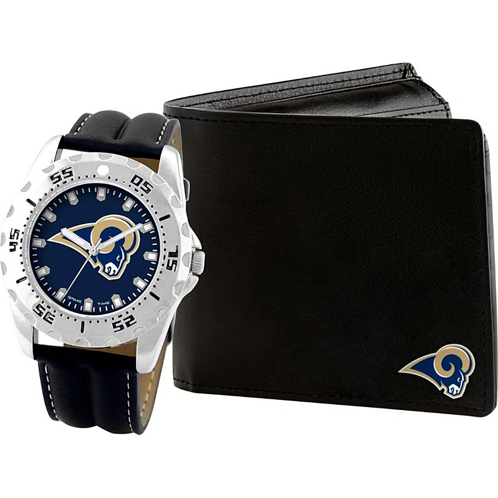 Game Time Watch and Wallet Gift Set - NFL Los Angeles Rams - Game Time Watches - Fashion Accessories, Watches