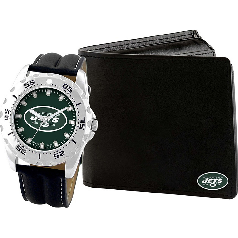 Game Time Watch and Wallet Gift Set - NFL New York Jets - Game Time Watches - Fashion Accessories, Watches