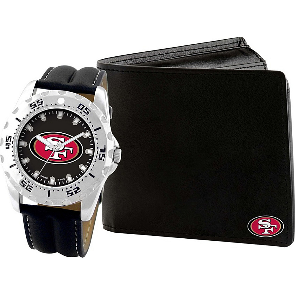 Game Time Watch and Wallet Gift Set - NFL San Francisco 49ers - Game Time Watches - Fashion Accessories, Watches