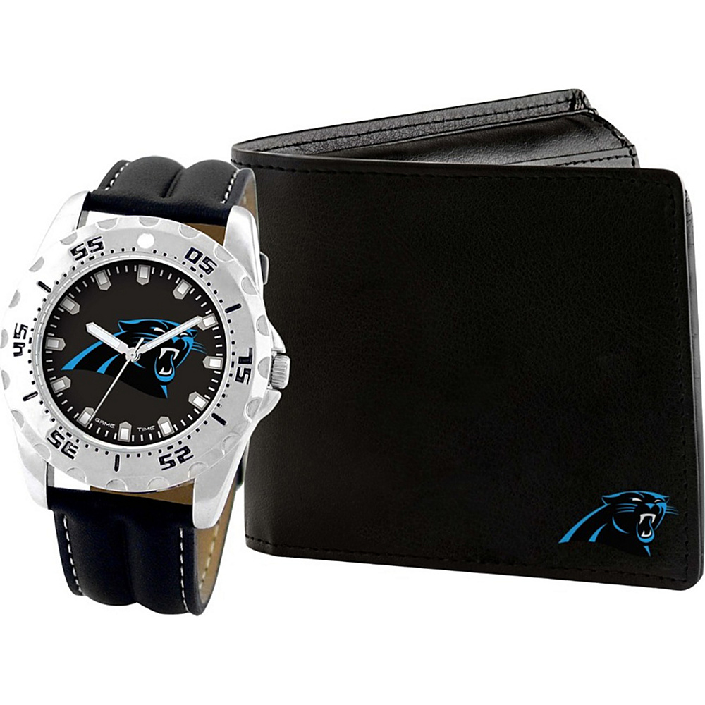 Game Time Watch and Wallet Gift Set - NFL Carolina Panthers - Game Time Watches - Fashion Accessories, Watches
