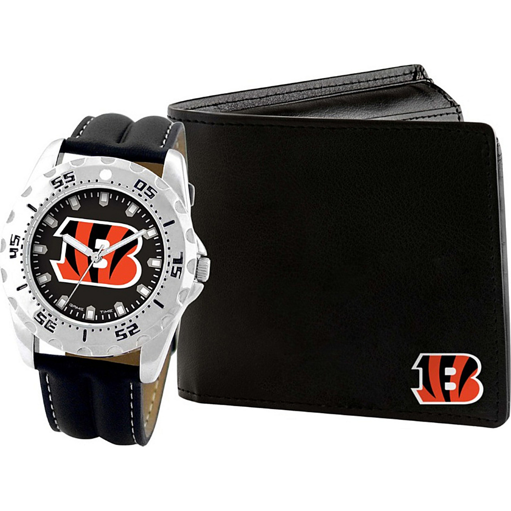 Game Time Watch and Wallet Gift Set - NFL Cincinnati Bengals - Game Time Watches - Fashion Accessories, Watches