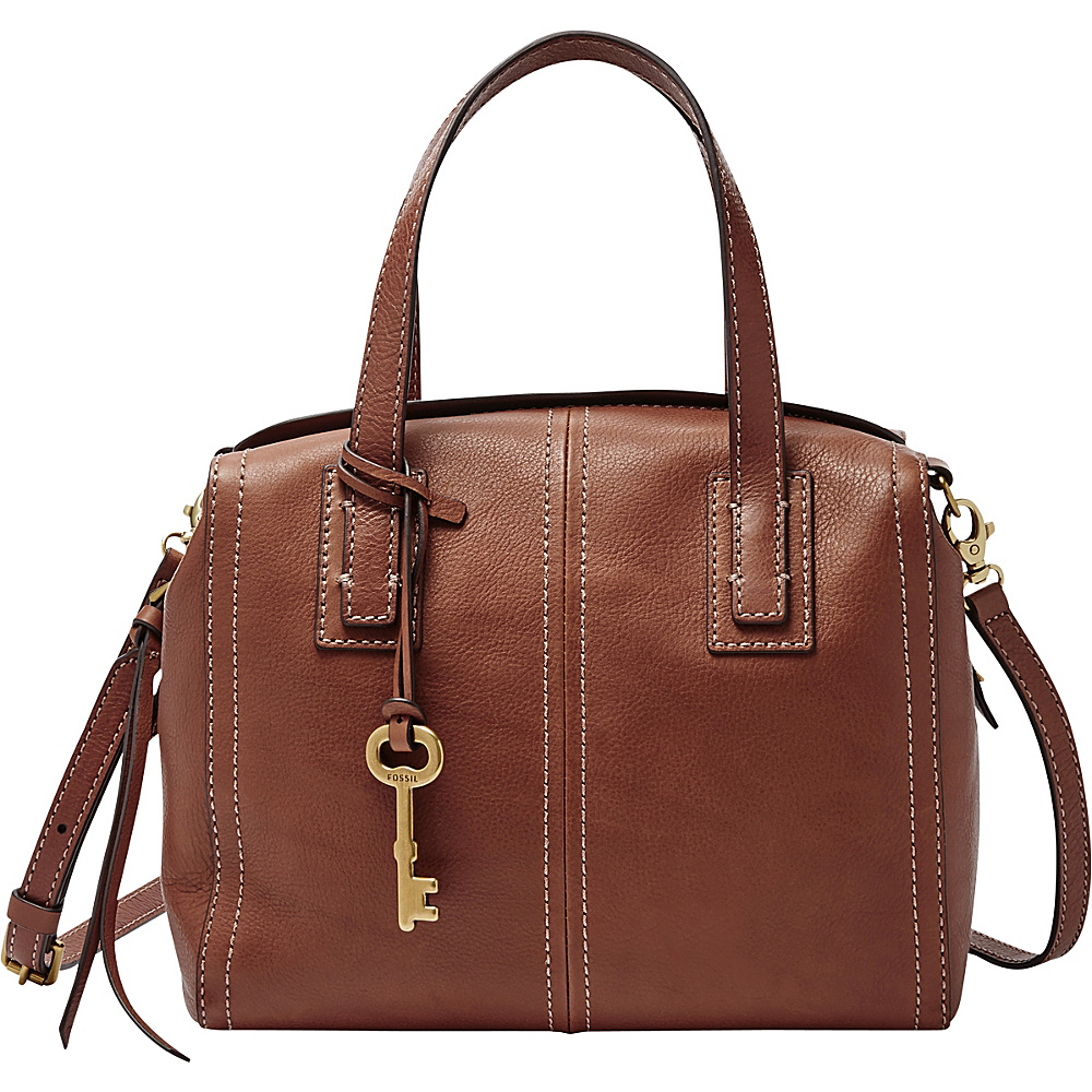 Fossil Emma Satchel Brown - Fossil Gym Bags - Sports, Gym Bags
