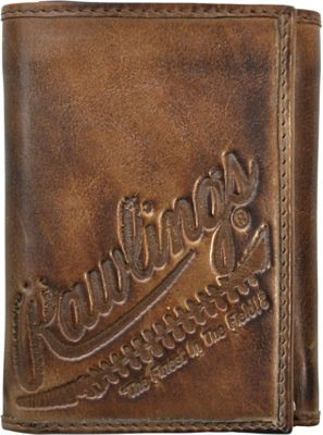 Rawlings Fielder's Choice Trifold Wallet Glove Brown - Rawlings Men's Wallets
