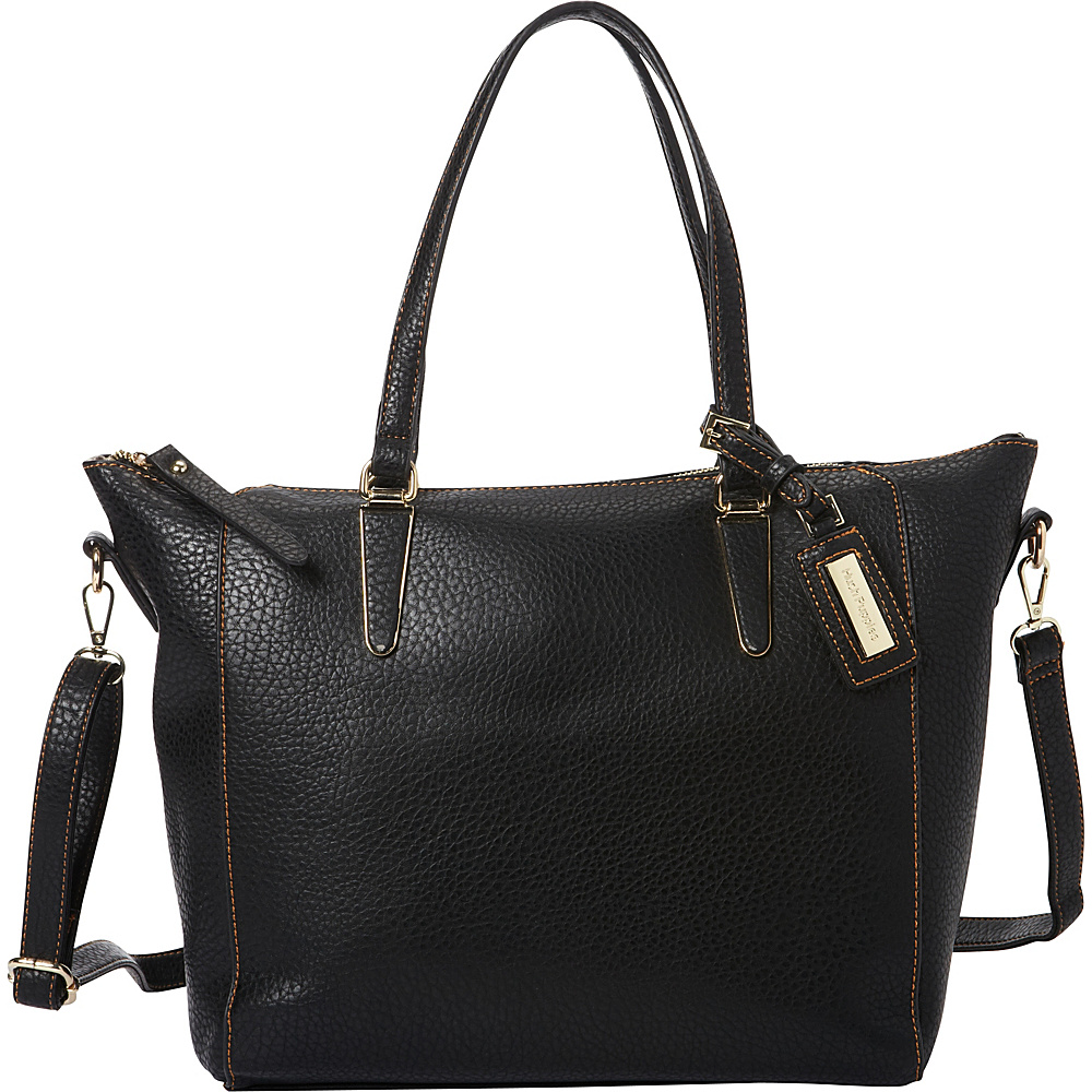 Hush Puppies Jay Shoulder Bag Black Hush Puppies Manmade Handbags