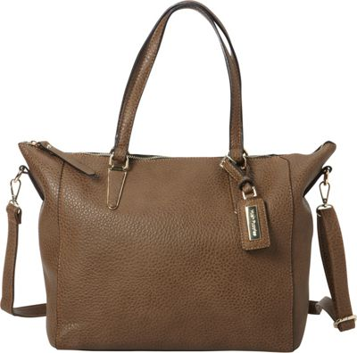 Hush Puppies Jay Shoulder Bag Stone - Hush Puppies Manmade Handbags