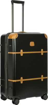 BRIC'S Bellagio 2.0 30 inch Spinner Trunk Black - BRIC'S Hardside Checked